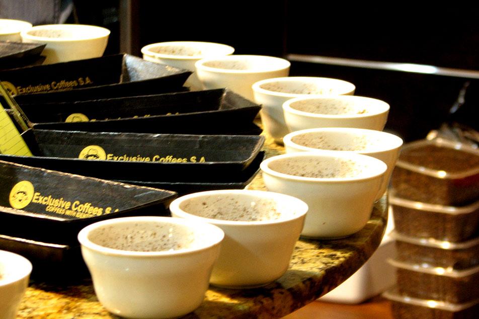 コーヒーの評価について考える。