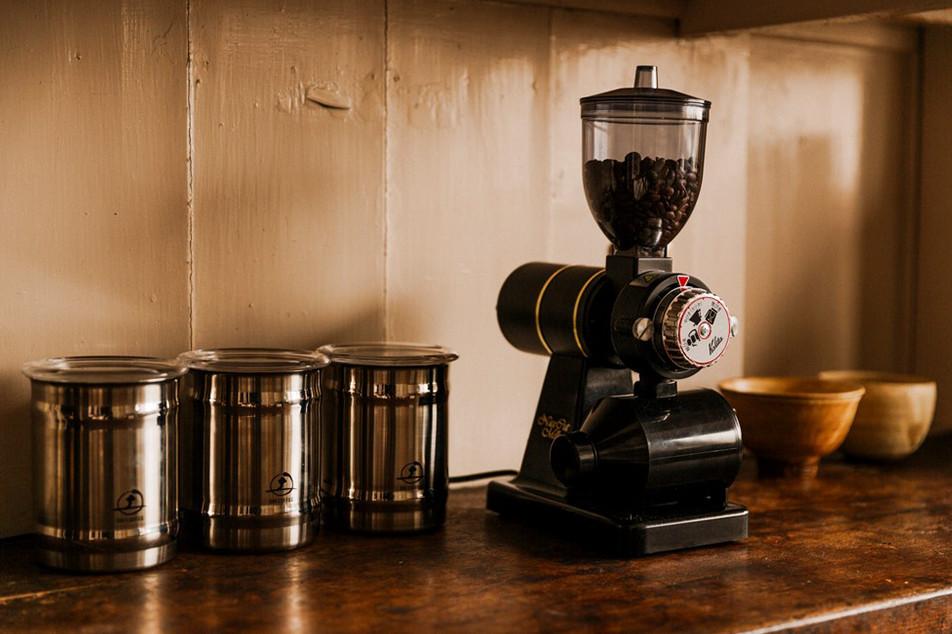 あらためて、「コーヒー豆の保存」。