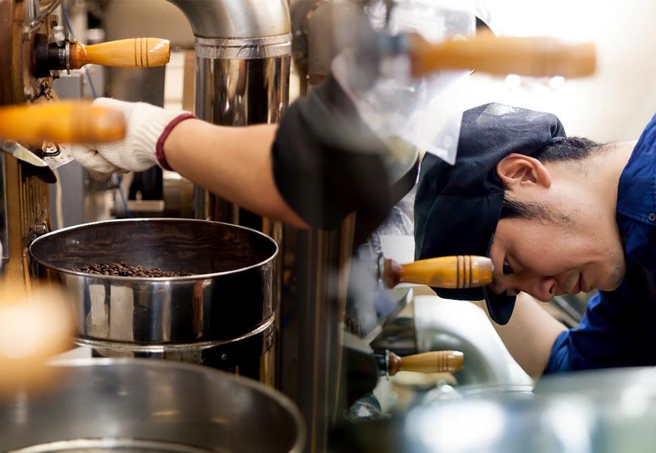 わたしたちは、旧式の焙煎釜を使いつづけていきます。