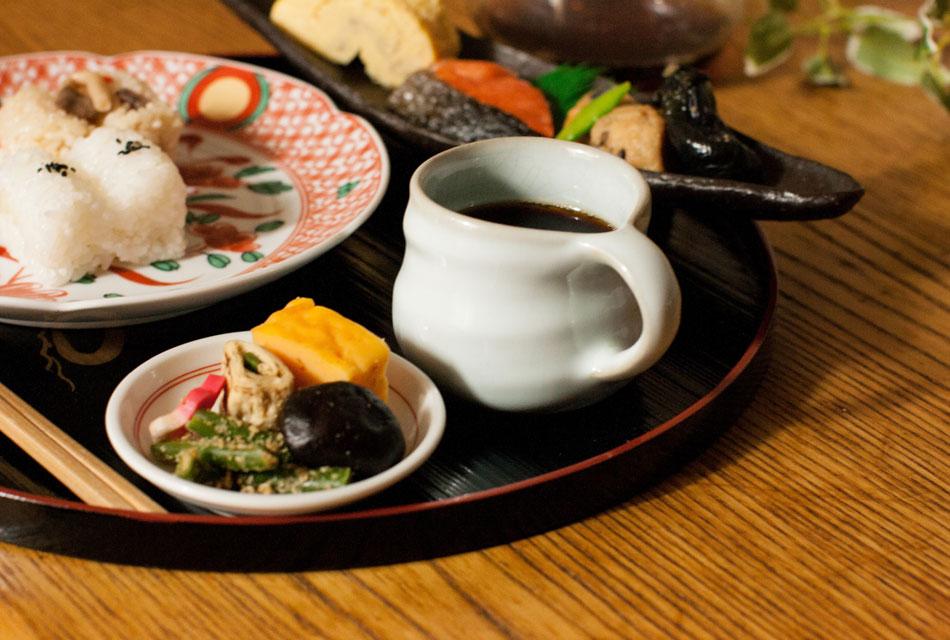 「和食」と「コーヒー」の相性。