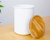 ハリオ コーヒーキャニスター BCN−200−W 本体価格 2800円 (税込3024円)
